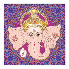 Poster Head of Ganesha