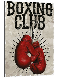 Alu-Dibond  Boxing club