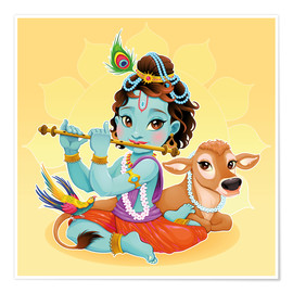 Poster  Bébé Krishna - Kidz Collection