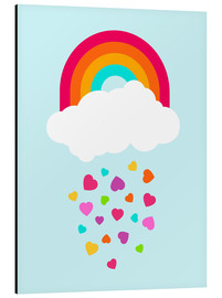 Tableau en aluminium  Printemps - Kidz Collection