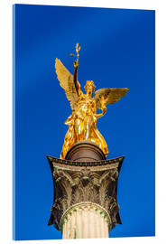 Verre acrylique  Angel of peace in Munich - Dieterich Fotografie
