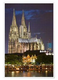 Poster  cathedral of cologne - Dieterich Fotografie