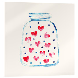 Verre acrylique  Un pot d'amour - Kidz Collection