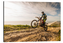 Alu-Dibond  Coast trip with the Enduro