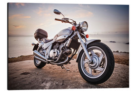 Motorbike by the sea