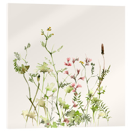 Verre acrylique  Wild Flower Meadow - Dearpumpernickel