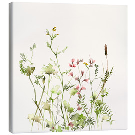 Toile  Wild Flower Meadow - Dearpumpernickel