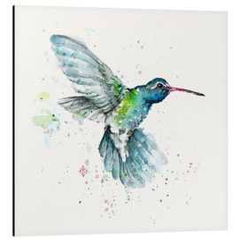Tableau en aluminium  Colibri en vol - Sillier Than Sally