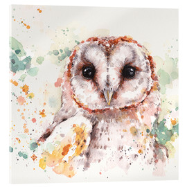 Verre acrylique  Barn Owl - Sillier Than Sally