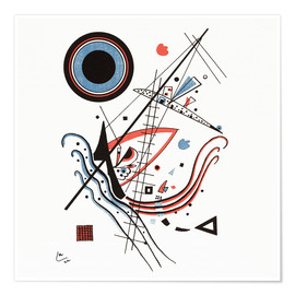 Poster  Lithographie bleue - Wassily Kandinsky