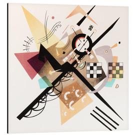 Alu-Dibond  Draft 'On White II' - Wassily Kandinsky