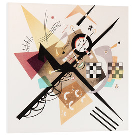 Forex  Draft 'On White II' - Wassily Kandinsky