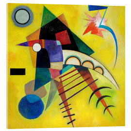 Verre acrylique  white point - Wassily Kandinsky