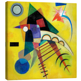 Tableau sur toile  Point blanc - Wassily Kandinsky