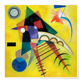 Poster  Point blanc - Wassily Kandinsky