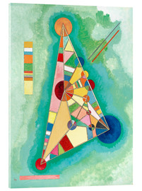 Wassily Kandinsky - Stained in Triangle