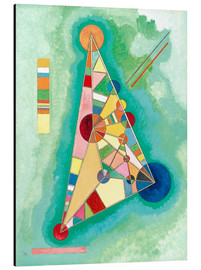 Alu-Dibond  Stained in Triangle - Wassily Kandinsky