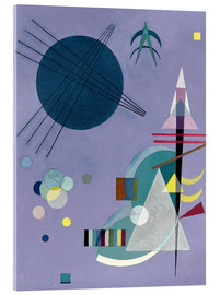 Verre acrylique  Violet Green - Wassily Kandinsky