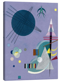 Toile  Violet Green - Wassily Kandinsky
