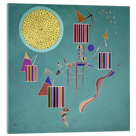 Verre acrylique  Intime Message - Wassily Kandinsky