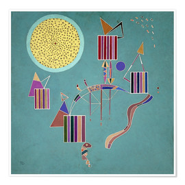 Poster  Intime Message - Wassily Kandinsky