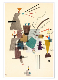 Poster  Froid chaud - Wassily Kandinsky