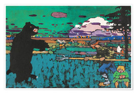Poster  L'Ours - Wassily Kandinsky