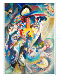 Poster  Moscou II (Place Rouge) - Wassily Kandinsky