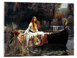 Tableau en verre acrylique  La Dame de Shalott - John William Waterhouse