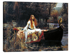 Tableau sur toile  La Dame de Shalott - John William Waterhouse