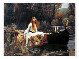Poster  La dame de Shalott - John William Waterhouse