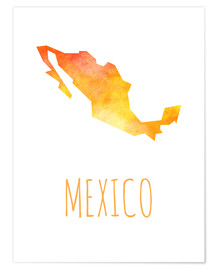 Poster  Mexico - Stephanie Wittenburg
