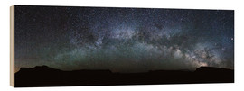 Bois  Panoramic of the Milky way arch in the sky, United States - Matteo Colombo