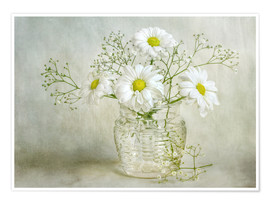 Poster Still life with Chrysanthemums