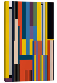 Tableau sur toile  Ascension du Bauhaus - THE USUAL DESIGNERS