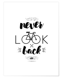 Poster Never look back