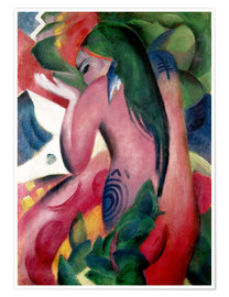 Franz Marc - Red Woman