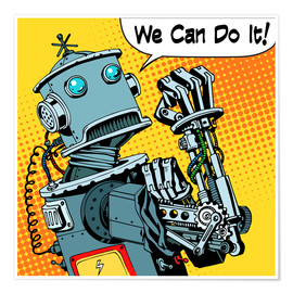 Poster  We can do it - Kidz Collection