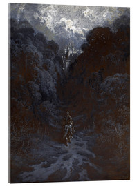 Gustave Doré - Sir Lancelot Approaching the Castle of Astolat