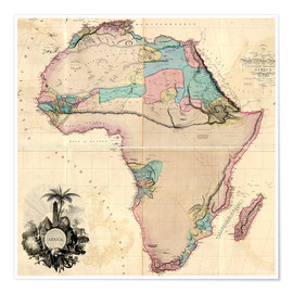 Map of Africa, 1802