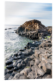 Tableau en verre acrylique  The Giants Causeway - Michael Runkel