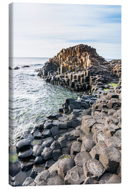 Tableau sur toile  The Giants Causeway - Michael Runkel