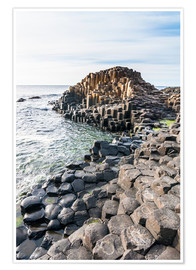 Poster  The Giants Causeway - Michael Runkel