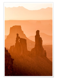 Poster Canyonlands National Park, Utah, United States of America, North America