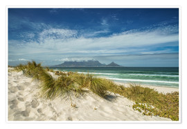Poster  Cape Town South Africa - Achim Thomae