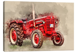 Toile  McCormick tractor Oldtimer - Peter Roder