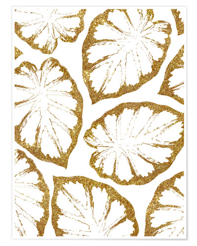 Poster Monstera Or