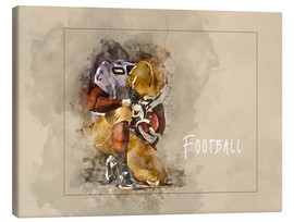 Toile  american football - Peter Roder