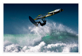 Poster  Windsurfer dans l'air - Ben Welsh