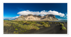 Poster Iceland Panorama